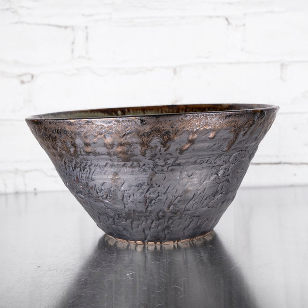 "NEW! 10"" Deep Bowl in Kelp by Alice Goldsmith"