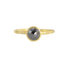 NEW! 1ct Black Rosecut Diamond Chloe Setting Ring by Sarah Mcguire