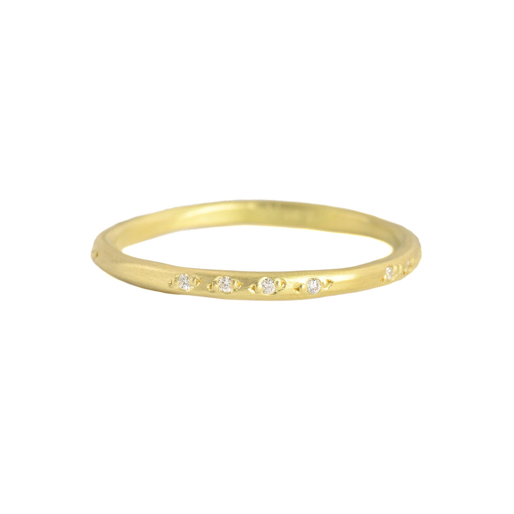 NEW! 18k Gold Scatter Vine Band by Sarah Mcguire