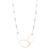 NEW! Three Interlocked RC Necklace in Gold Vermeil by Lisa Crowder