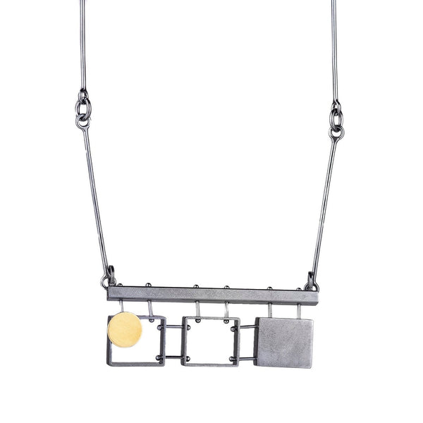 NEW! 3 Rectangles Necklace by Ashka Dymel