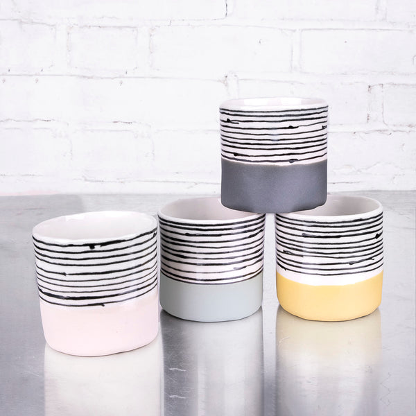 NEW! Short Tumblers in Multiple Colors by Elizabeth Benotti