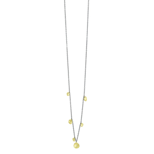 Six Pod Drop Necklace- 18k Gold Vermeil  by Sarah Richardson