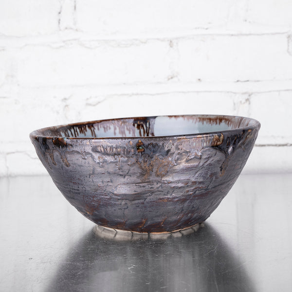 "NEW! 8"" Deep Bowl in Hurricane by Alice Goldsmith"