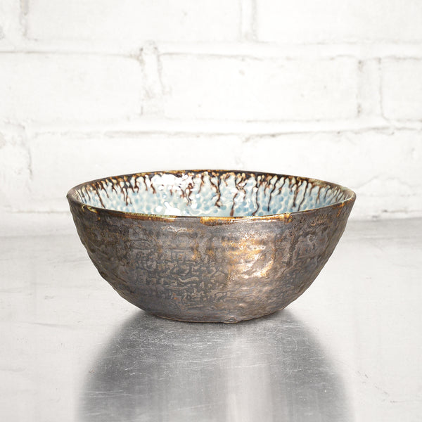 NEW! Hammered Bowl in Hurricane by Alice Goldsmith