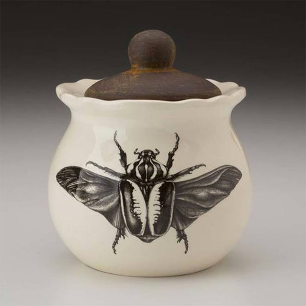 NEW! Goliath Beetle Open Wing Sugar Bowl by Laura Zindel