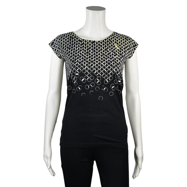 NEW! Black Chain T-Shirt by Umsteigen