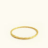 Maya Twist Stacking Ring by Carla Caruso - Fire Opal - 1