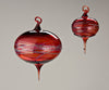 Glass Ornaments by Cicada Glassworks - Fire Opal - 2