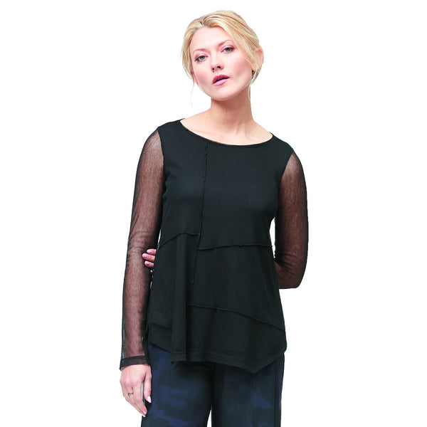 NEW! College Top in Black by Porto