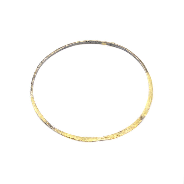 Crescent Stacker Bangle by Kate Maller
