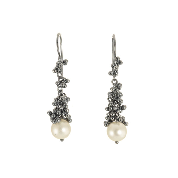 NEW! Caviar Clustering Granulation Earrings by Magally Lopez