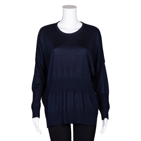 SALE! Blue Sweater by Knit Knit