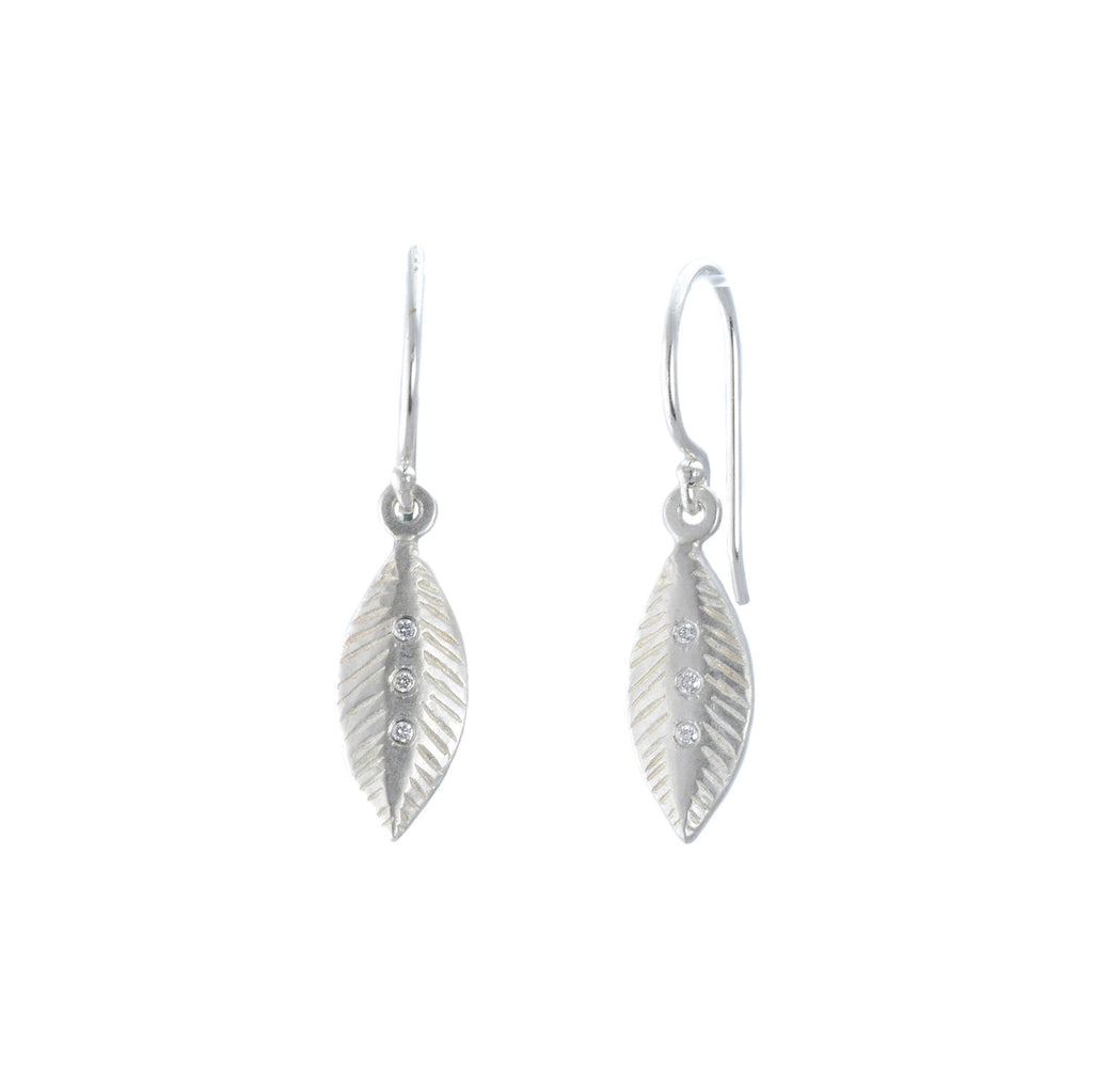 Feather Dangle Earrings by Sarah Swell