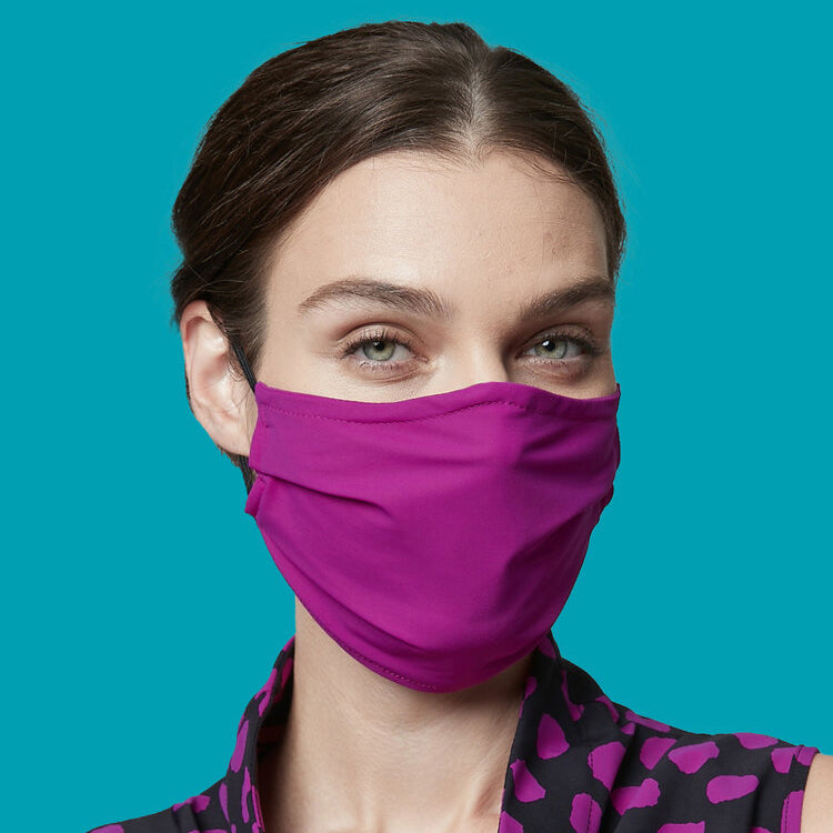 NEW! Porto Mask in Fuchsia Jet Jersey