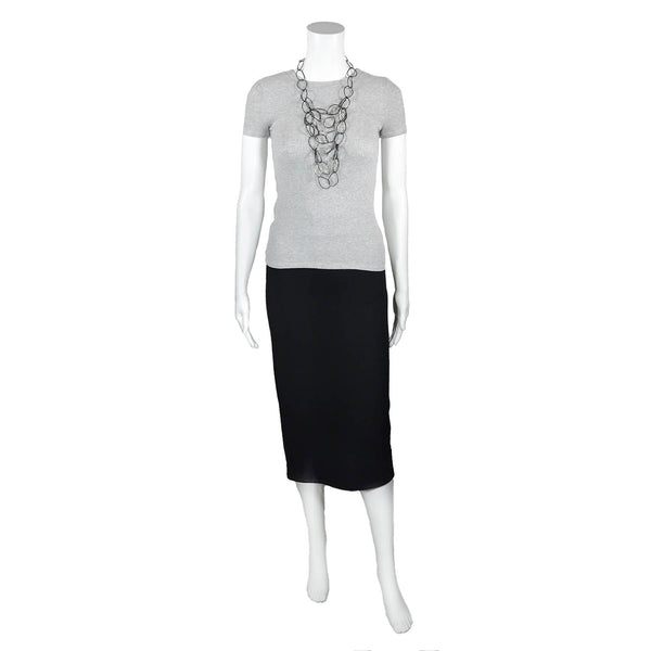NEW! Pencil Skirt in Black by Corrine Collection