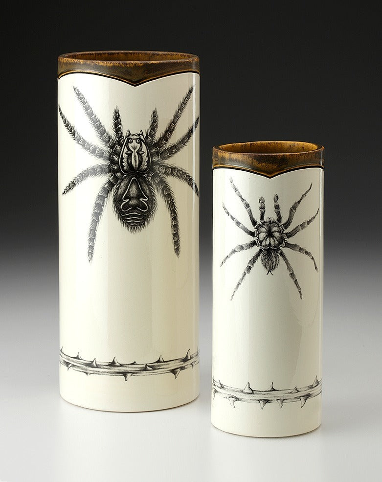 Tarantula Small Vases by Laura Zindel