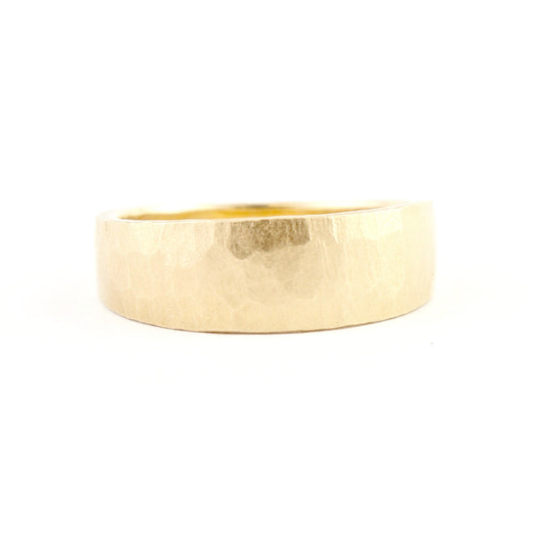 Tampered Hewn Band by Dawes Design