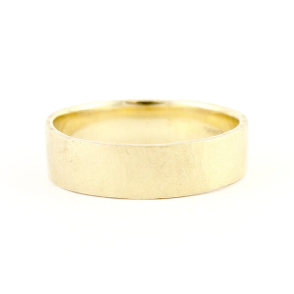 Men's Hewn 8mm Plain Band by Dawes Design