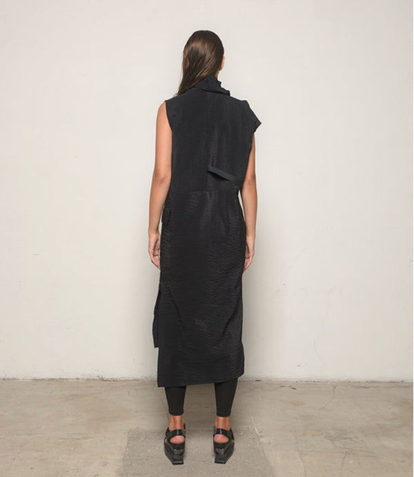 Midtown Skirt in Black by Sun Kim