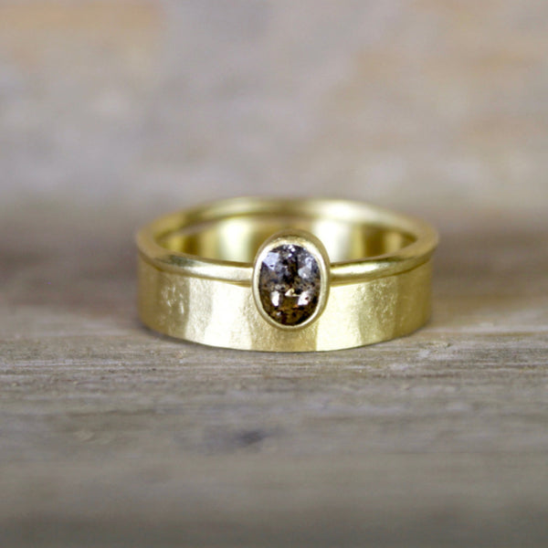 4mm Parchment Band by Sarah Mcguire