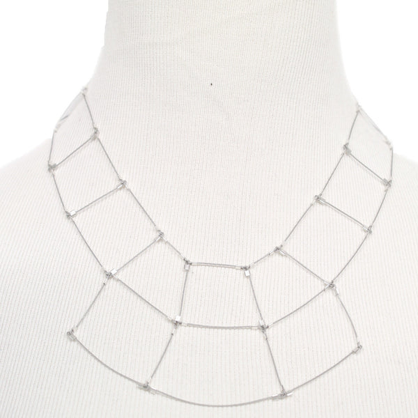 Trapezoid Necklace by Meghan Patrice Riley