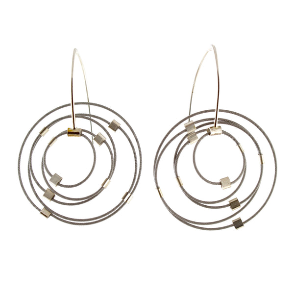 Gravity Earrings by Meghan Patrice Riley