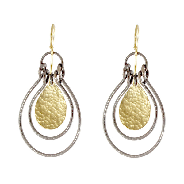 Double Arch Earrings by Lisa Crowder