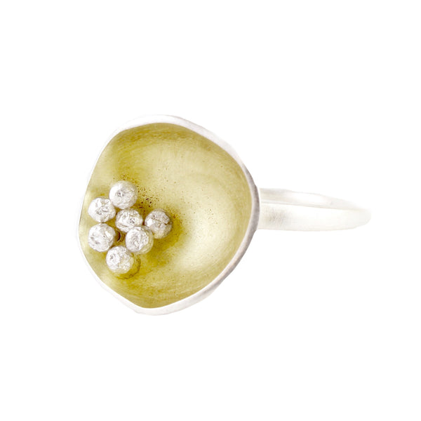 Feeler Cup Ring by Melle Finelli