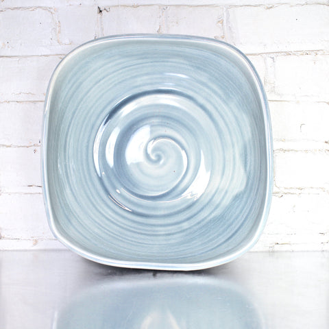 Giant Square Bowl in Hurricane by Alice Goldsmith