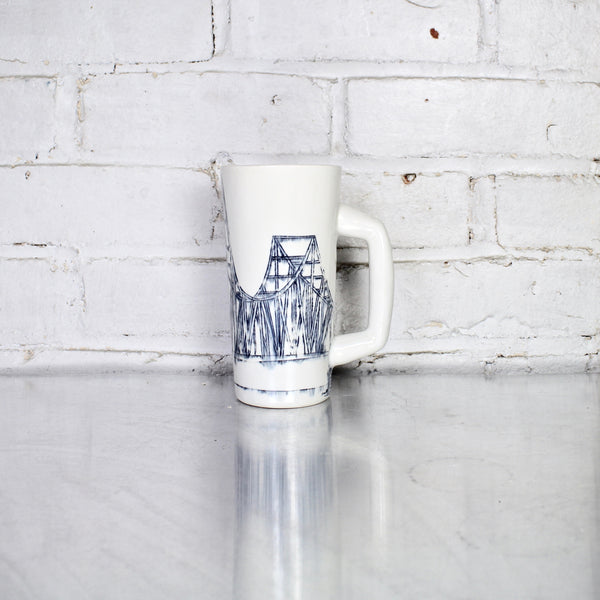 Melcher Bridge Beer Stein by Nicole Aquillano