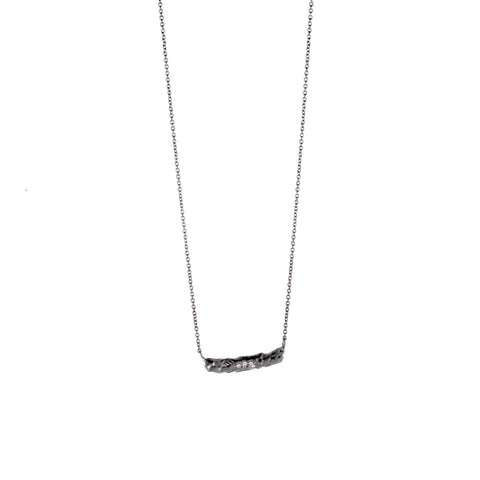 Small Bar Necklace by Rebecca Overmann