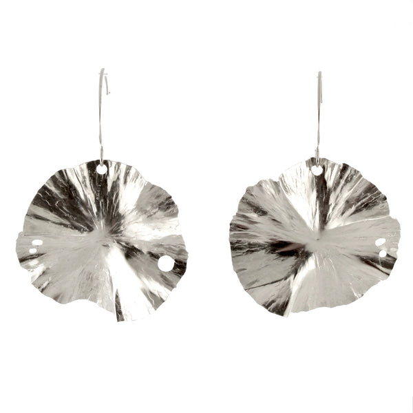 Medium Lily Pad Drop Earrings by Melle Finelli