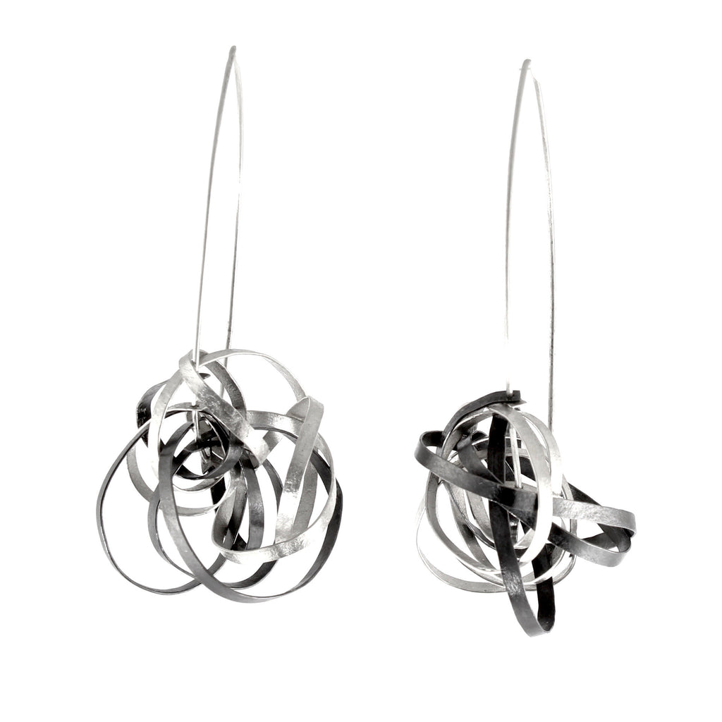 Crazy Twist Earrings by Melle Finelli