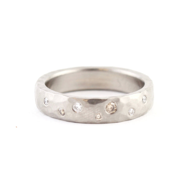 SALE! Scattered Diamond Band by EC Design
