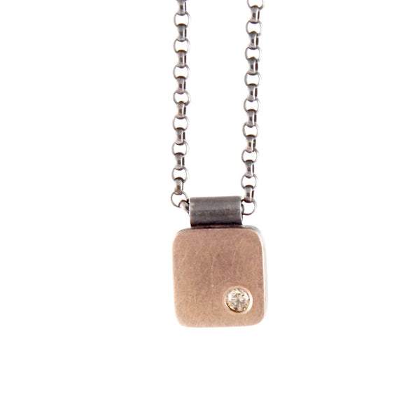 SALE! Rectangle Cell Pendant by EC Design