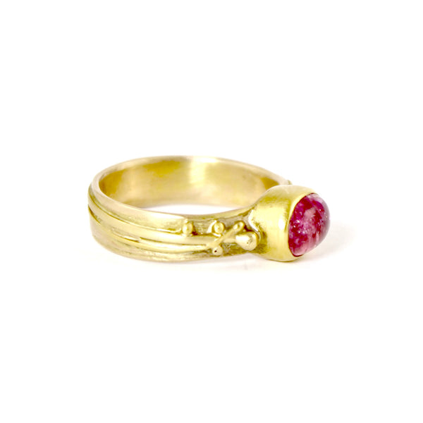 Pink Tourmaline Ring by Regina Imbsweiler