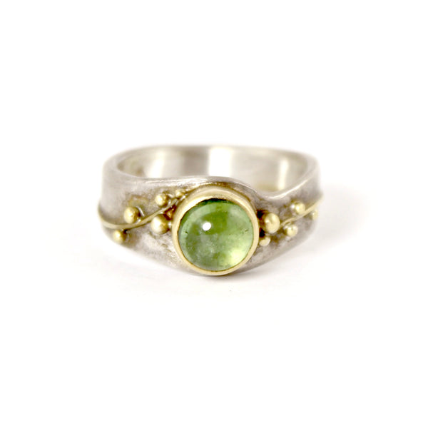 Green Tourmaline Ring by Regina Imbsweiler