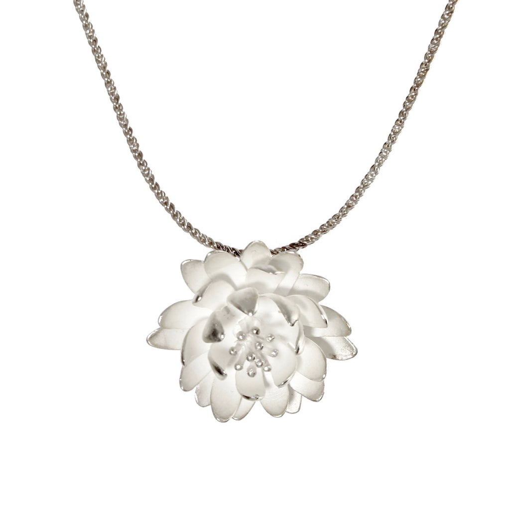Large Waterlily Pendant by EAM