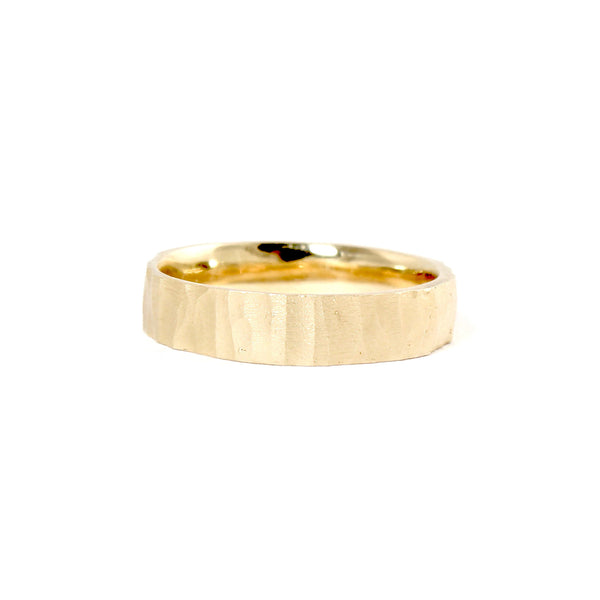 14k Stick Band by Rebecca Overmann