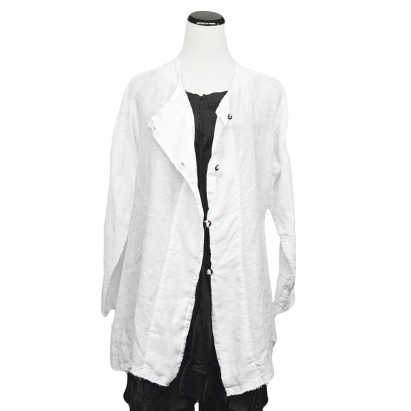 Pixie Jacket in White by Skif
