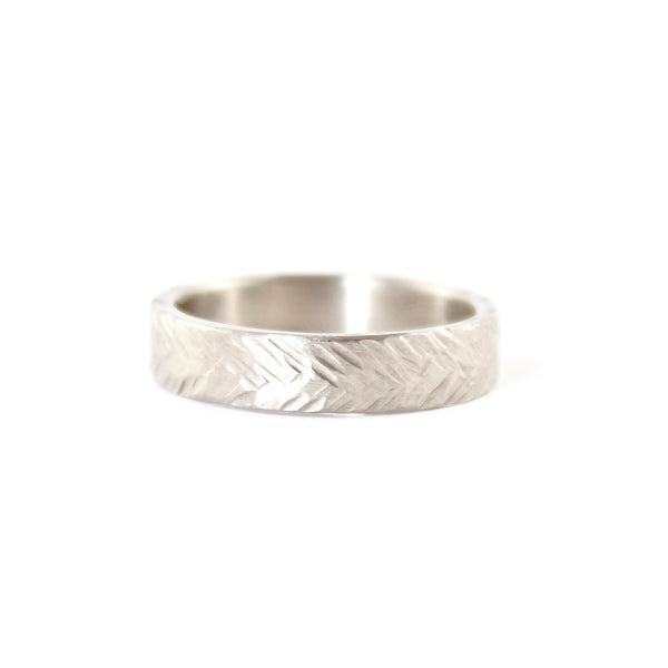 Wheat Hammered Band by EC Design