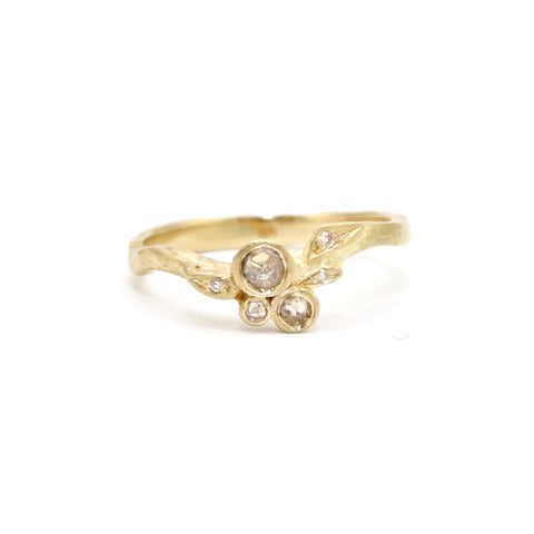 Vine with Diamonds Ring by Dawes Design