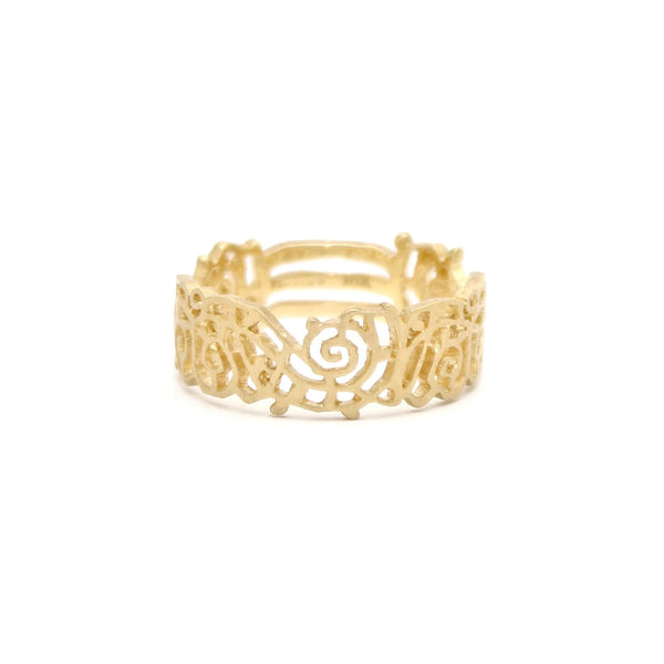 Lace Pattern Band by Dawes Design