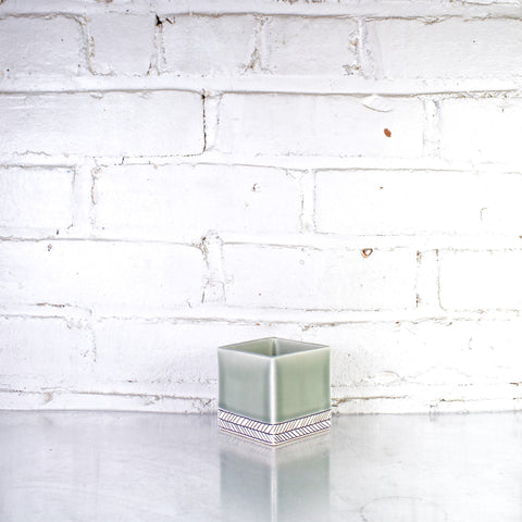 Square Medium Planter by Elizabeth Benotti