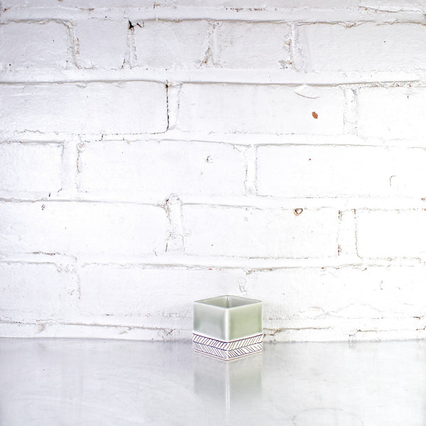 Square Small Planter by Elizabeth Benotti