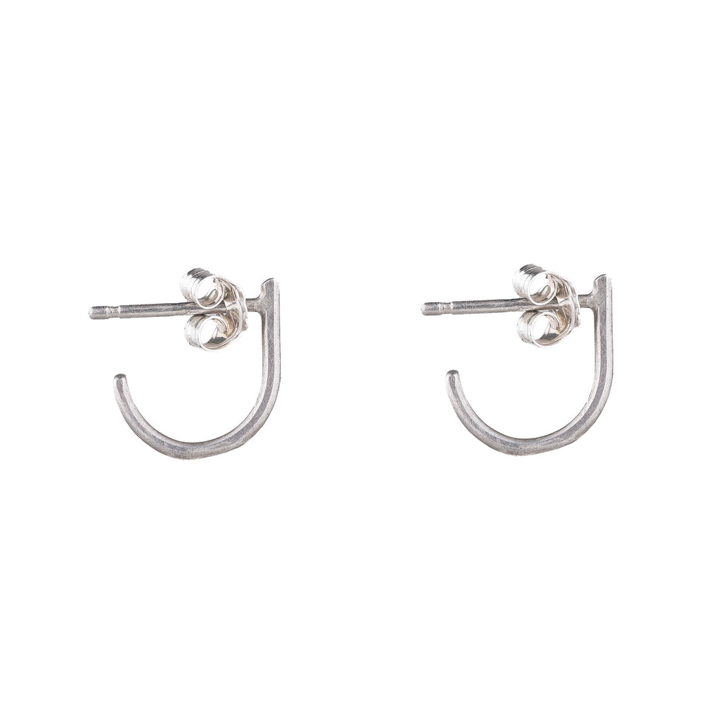 NEW! Sterling Silver J Post Earrings by Colleen Mauer Designs