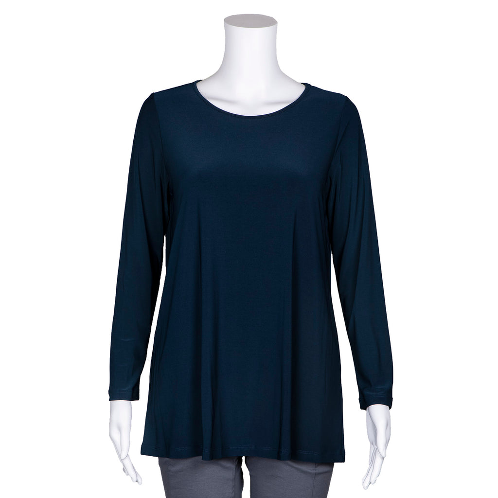 SALE! Long Sleeve Tunic in Denim by Sun Kim