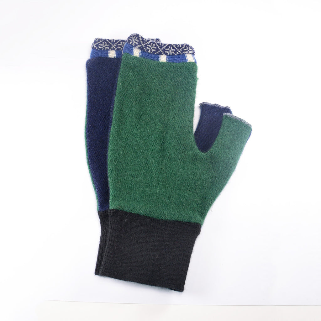 NEW! Large Fingerless Mittens (in Multiple Colors) by e ko logic