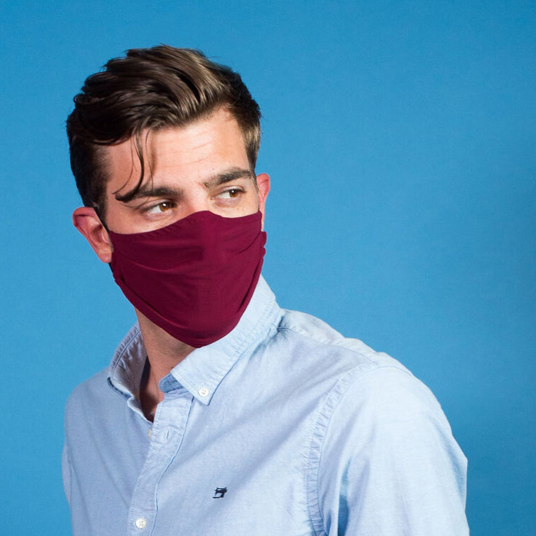 NEW! Porto Mask in Cabernet Jet Jersey